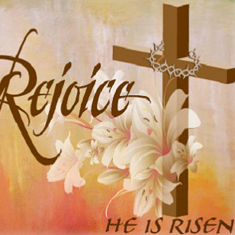 Alleluia! Christ is Risen! Happy Easter everyone!